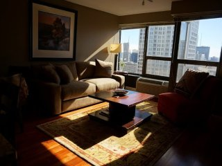Furnished 1-Bedroom Condo at N Wabash Ave & E Huron St Chicago - Chicago vacation rentals
