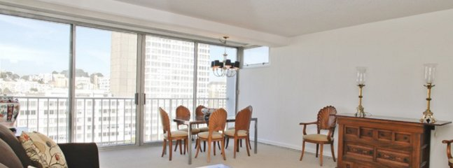 Furnished 3-Bedroom Apartment at Laguna St & Cleary Ct San Francisco - San Francisco vacation rentals