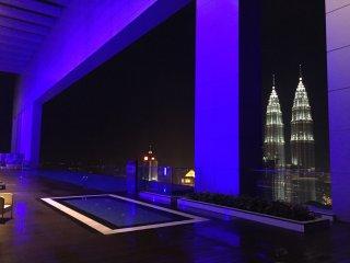 Luxury 2 Bedrooms Near KLCC 2.5mins walk to Train - Kuala Lumpur vacation rentals