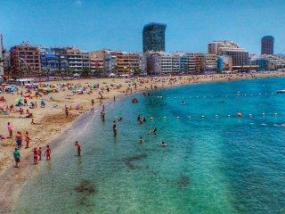 Fantastic flat near Las Palmas main beach - Las Palmas de Gran Canaria vacation rentals