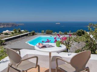 Ananda Retreat Villa M private pool sunset view - Pyrgos vacation rentals