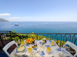 Cameo with terrace, sea view and access to the sea - Amalfi vacation rentals