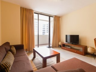 Spacious 2BR serviced apartment in Colombo center - Colombo vacation rentals