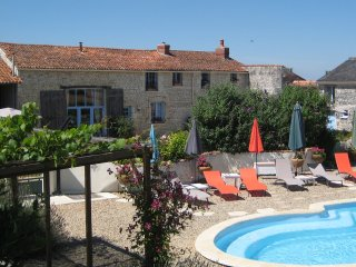 Luxury Farmhouse, Private heated pool, Free Wifi - Faye-la-Vineuse vacation rentals