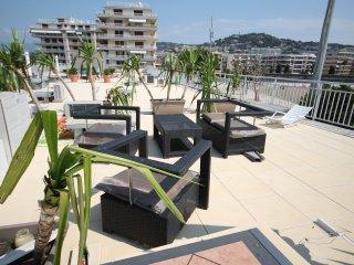 Beau 2 pièces avec solarium sur le toit terrasse - Cannes vacation rentals