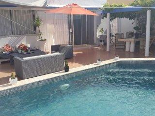 maison moderne 50m de la plage 3ch 3sdb dbl salon - El Harhoura vacation rentals