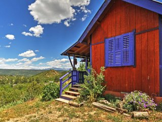NEW! 10% Off 3 Nights Or More! Chalet in the Clouds 2BR Pagosa Springs Cabin - Pagosa Springs vacation rentals