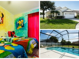 Kissimmee Pool Villa / Oversized Southfacing Pool - Kissimmee vacation rentals