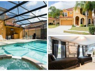 Watersong Pool Villa / Sleeps 14 in Gated Resort - Davenport vacation rentals