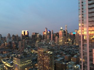 Light+Modern 2 Bed Times Square City + River Views - New York City vacation rentals