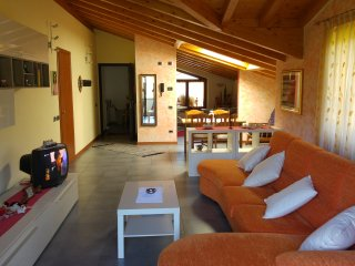 Amazing attic! Over 100m2 of charme - San Giovanni Bianco vacation rentals