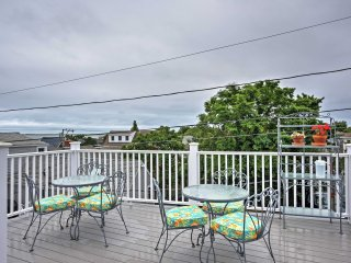 New Listing! Splendid 2BR Provincetown Penthouse Apartment w/Wifi, Private Patio & Mesmerizing Ocean Cape Views! - Provincetown vacation rentals