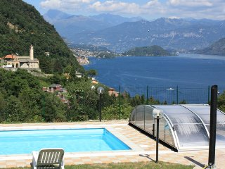 Lake Como Apart.Blue Lake A1 with garden and pool - Argegno vacation rentals