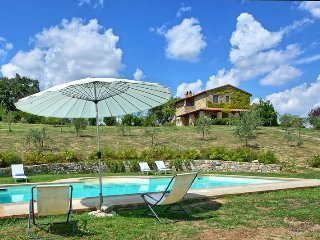 Luxury Villa Cristiana with private pool and views - Proceno vacation rentals