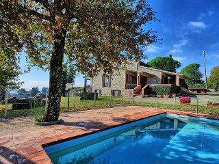 Villa Orizzonte with private pool in Chianti - Vagliagli vacation rentals