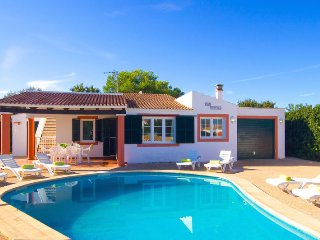Villa Tortuga with private pool in Cala en Bosch - Cala'n Bosch vacation rentals