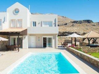 Villa Amara with private pool and hot tub - Lindos vacation rentals