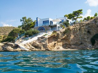 Luxury seafront house with balcony - Megara vacation rentals