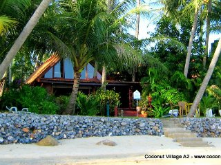 Beachfront Holiday Villa for Rent: Coconut Village A2 - Chaweng vacation rentals