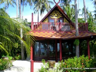 Beachfront Holiday Villa for Rent: Coconut Village A1 - Chaweng vacation rentals