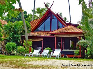Beachfront Holiday Villa for Rent: Coconut Grove D1 - Koh Samui vacation rentals