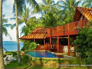 Beachfront Pool Villa for Rent: Coconut Paradise P3 - Koh Samui vacation rentals