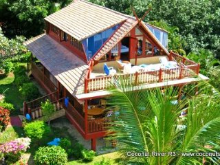 Beachfront Holiday Villa for Rent: Coconut River R3 - Koh Samui vacation rentals