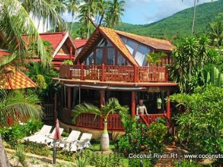 Beachfront Holiday Villa for Rent: Coconut River R1 - Koh Samui vacation rentals