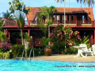 Holiday Villa for Rent: Coconut River R4 Beachside Rental - Koh Samui vacation rentals