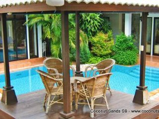 Private Pool Villa for Rent: Coconut Sands S9 Beachside Location - Koh Samui vacation rentals