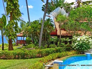 Beachfront Holiday Villa for Rent: Coconut Tropicana T1 - Koh Samui vacation rentals