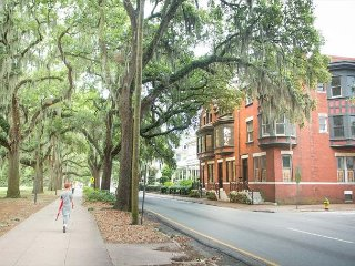 Well Appointed Row Home Looking Out On Beautiful Forsyth Park - Savannah vacation rentals