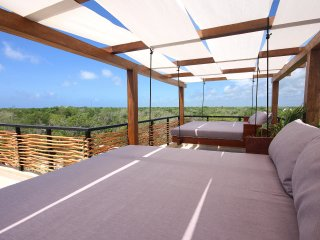 IDEAL FOR 10, Penthouse w/ nice views to the jungle - Tulum vacation rentals