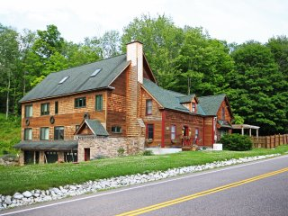 Reduced August 2016 Rates! New Listing! 'River Stone Lodge' Magnificent 6BR Ripton House w/Hot Tub, Game Room and 7 Acres of Stunning Mountain Views - Easy Access to Middlebury River - Ripton vacation rentals