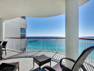 Oceanfront condo with sweeping views, jetted tub, shared tennis and pool! - Navarre Beach vacation rentals