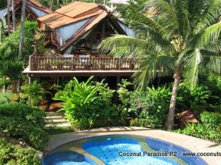 Holiday Villa for Rent: Coconut Paradise P2 Spacious Beachside Rental - Koh Samui vacation rentals