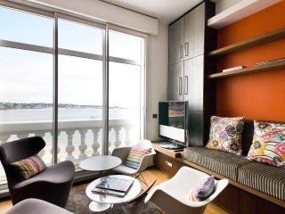 Grand studio avec vue exceptionnelle sur la baie - Saint-Jean-de-Luz vacation rentals