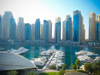 Beautiful 2 bedroom Jumeirah Lake Towers Apartment with Internet Access - Jumeirah Lake Towers vacation rentals