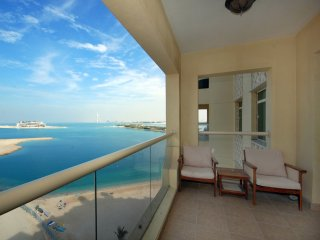 Palm Jumeirah apartment right on the beach - Palm Jumeirah vacation rentals