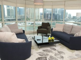 Panoramic Marina views, 2BR condo - Jumeirah Lake Towers vacation rentals