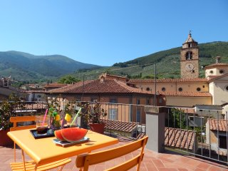 Apt Valle Verde with private rooftop terrace - Buti vacation rentals