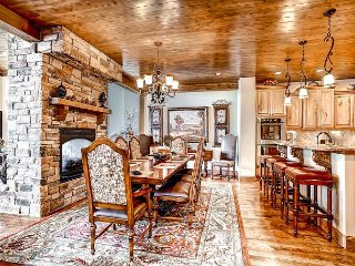 Enjoy Exceptional Views and Wonderful Amenities in this Spacious Villa! - Breckenridge vacation rentals