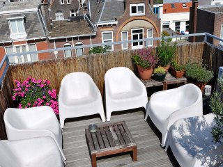 Spacious Studio Apartment with Roof Terrace Views - The Hague vacation rentals