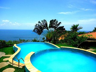 Sun7 Bungalow with amazing sea view - Morro de Sao Paulo vacation rentals