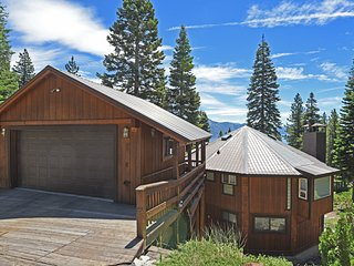 Chic Octagonal Home with Hot Tub and Game Room - Incline Village vacation rentals