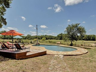 Wide Open Spaces: Country Home w/ Waterfall, Swimming Pool, Guest House - Bee Cave vacation rentals