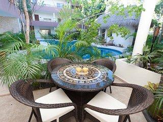 LUXURY TULUM GROUND FLOOR CONDO CLOSEST TO BEACH!! - Tulum vacation rentals