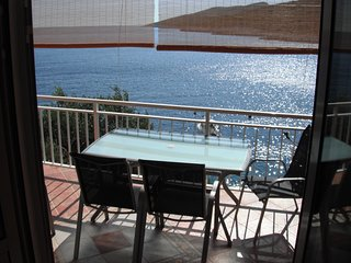 Apartment by the sea, beach below the house - Zavalatica vacation rentals