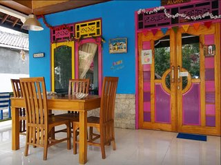 ROOM 4 RENT N 1 - Shared House AC FAN WIFI KITCHEN - Gili Air vacation rentals