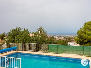 SPECTACULAR SEA VIEWS WITH PRIVATE POOL IN DENIA - Denia vacation rentals